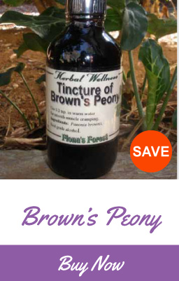 Brown's Peony Root